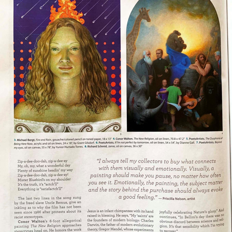 Michael Bergt featured in American Art Collector Magazine: Collector's Focus. December, 2019