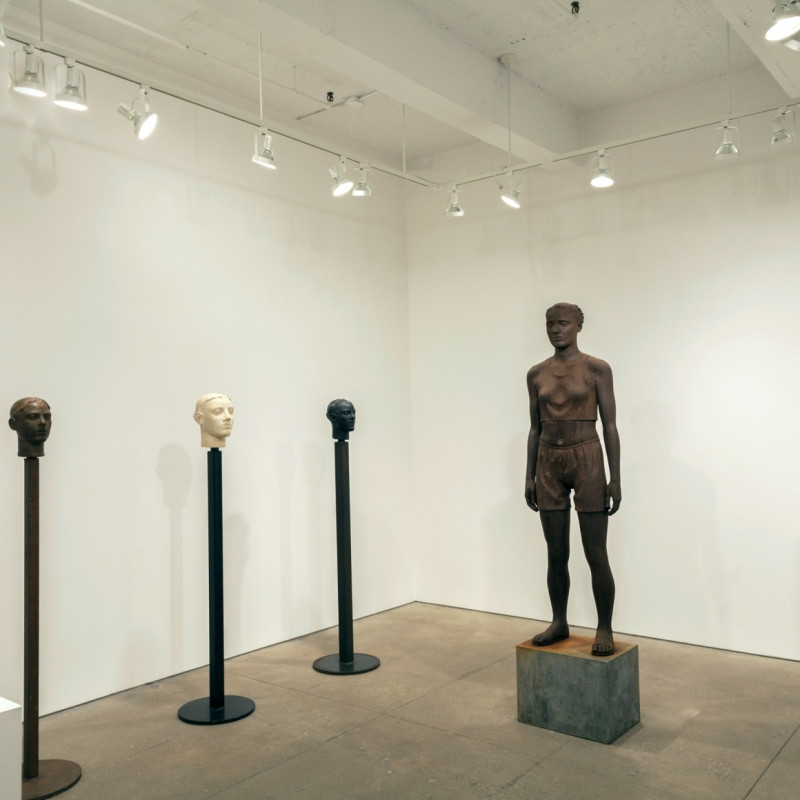 Diana Moore Solo Exhibition at Allan Stone Projects, NYC, USA
