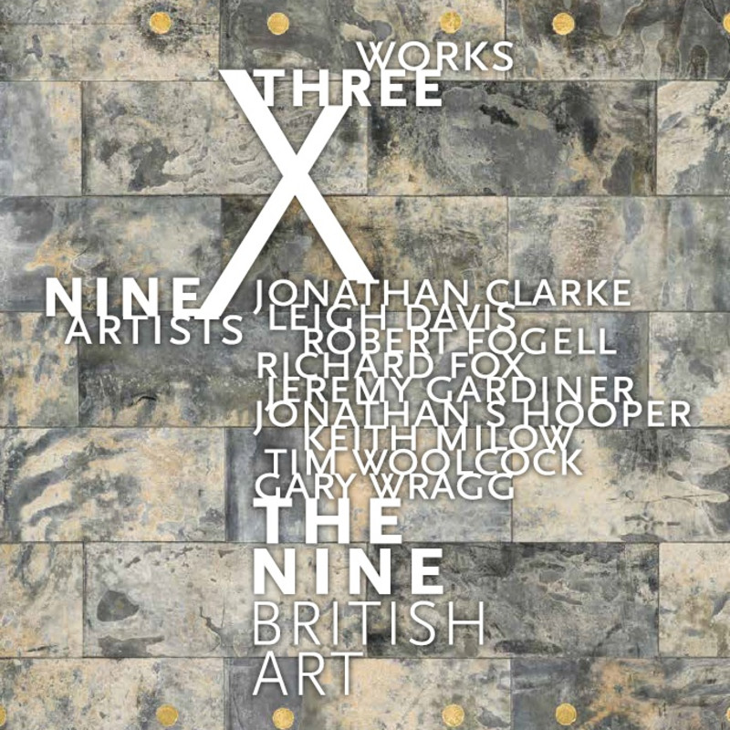 THREE WORKS X NINE ARTISTS