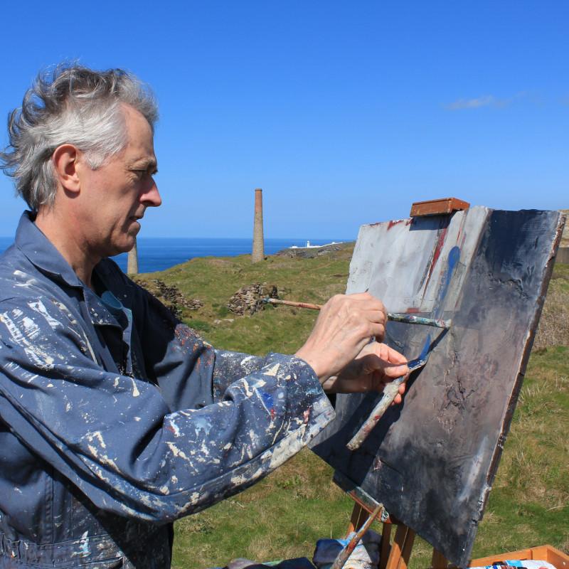 Jeremy Gardiner working in Cornwall