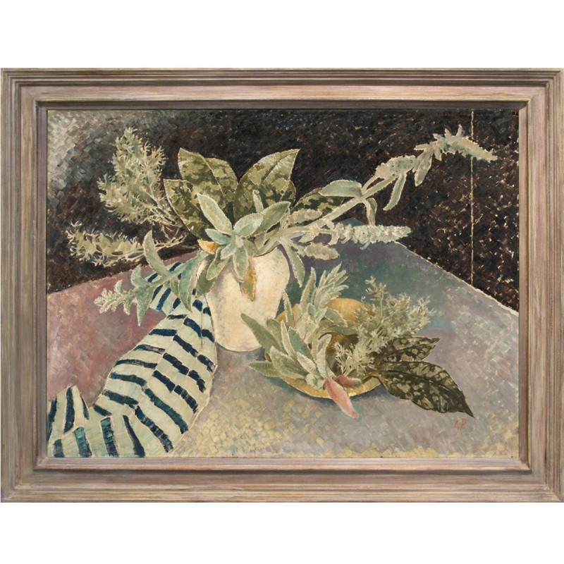Glyn Philpot 'Stachys and Leaves'