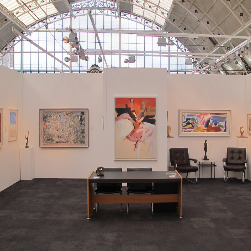 Stand at London Art Fair, January 2019