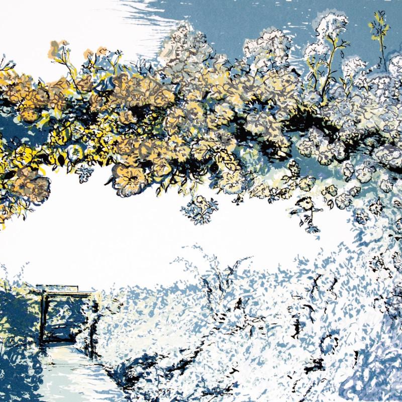 The Long Garden, screenprint