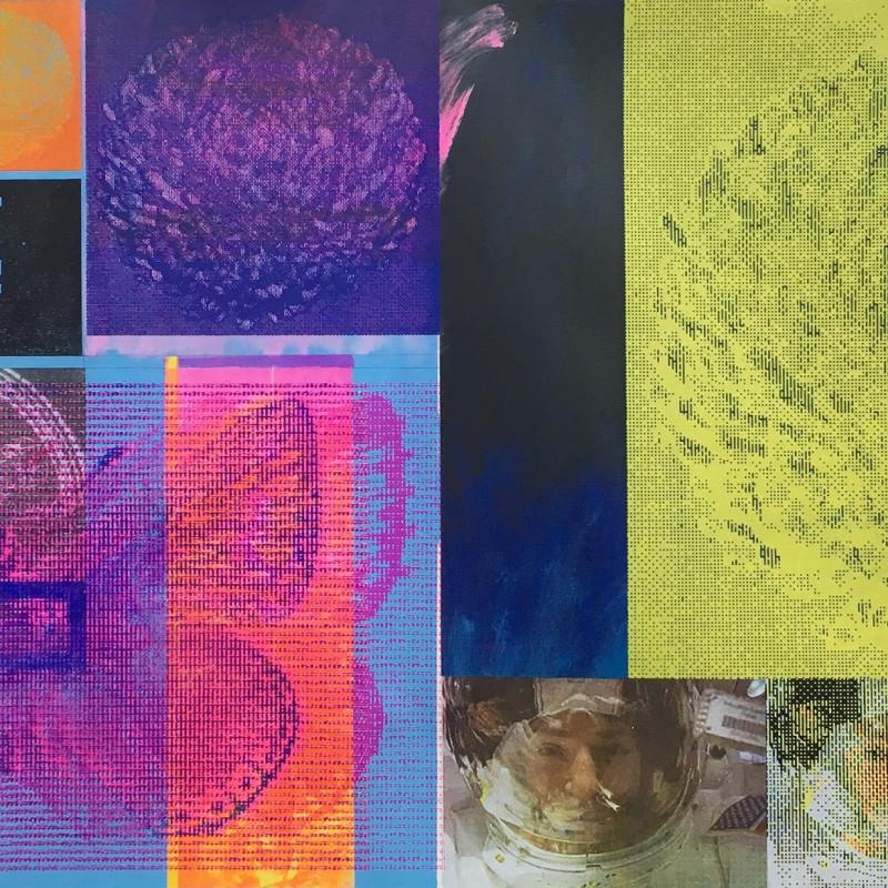 Artemis Stage 1, screenprint on canvas