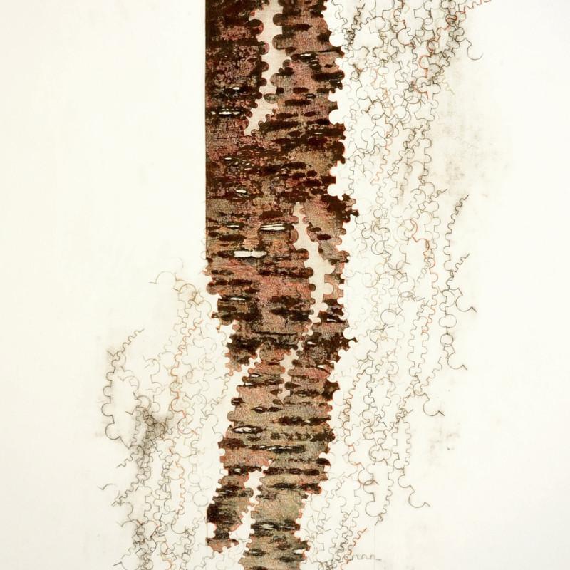 Ekphrasis 5, stone lithograph