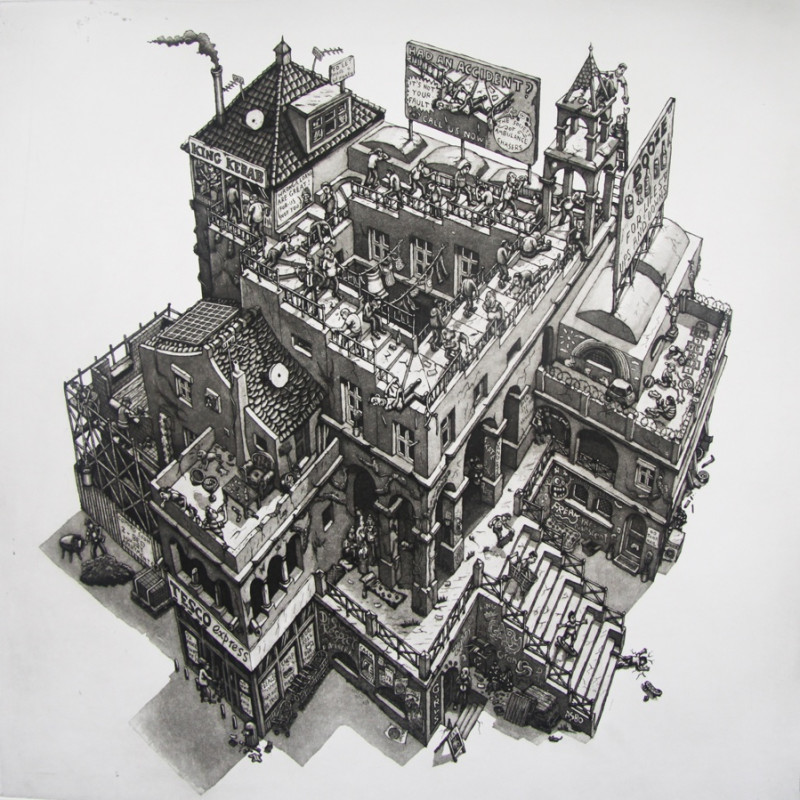 Martin Langford RE - After Escher
