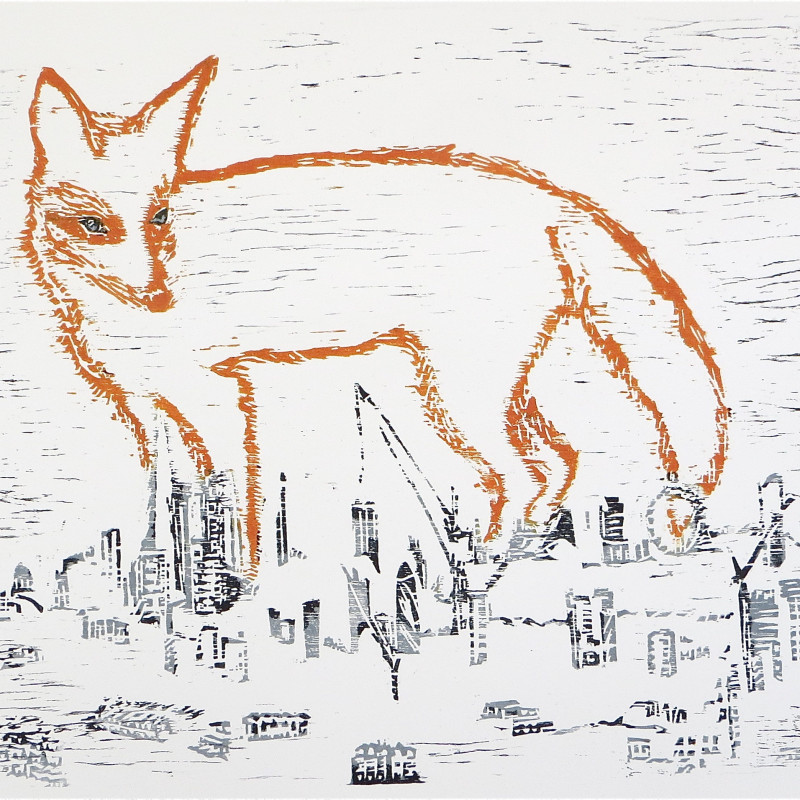 Sasa Marinkov RE, A Fox in the City