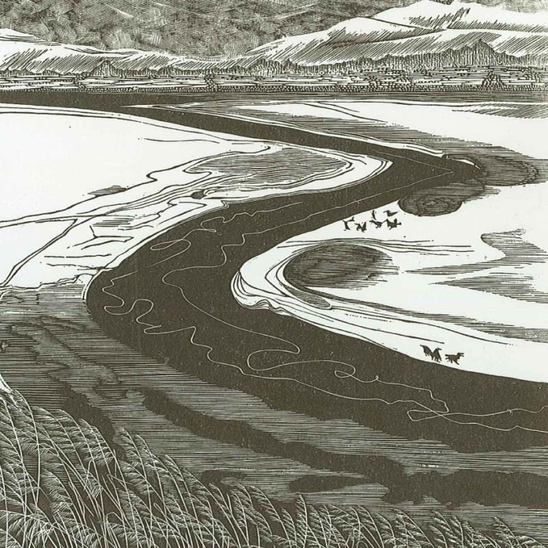 Sarah Van Niekerk RE - The Severn in Winter