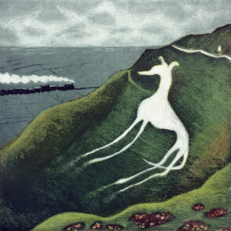 Mychael Barratt PRE Hon RE, Eric Ravilious' Dog
