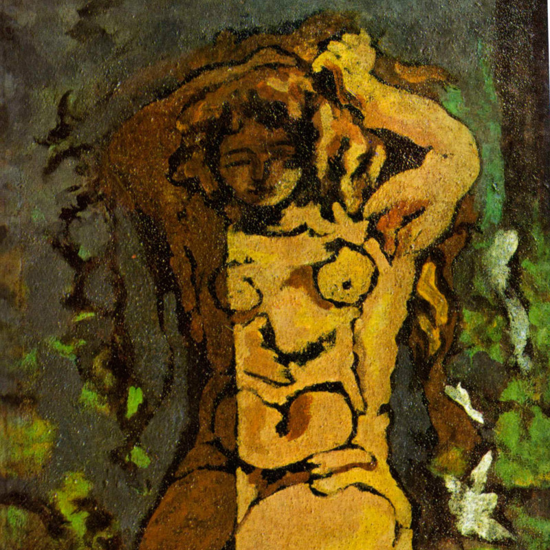 Georges Braque - Nude, 1925