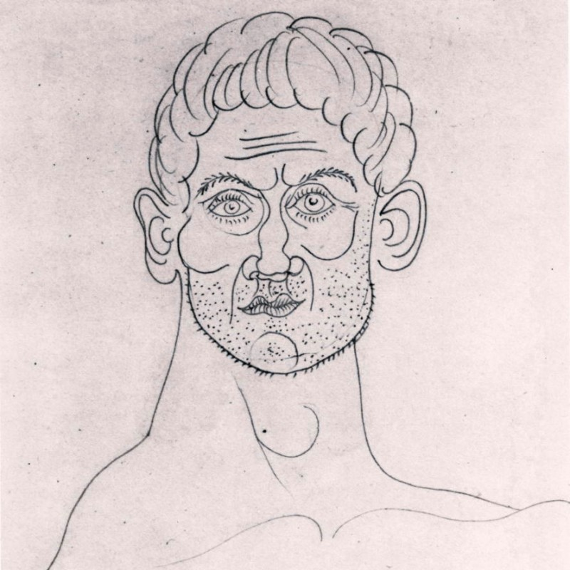 Pablo Picasso - Head of Man