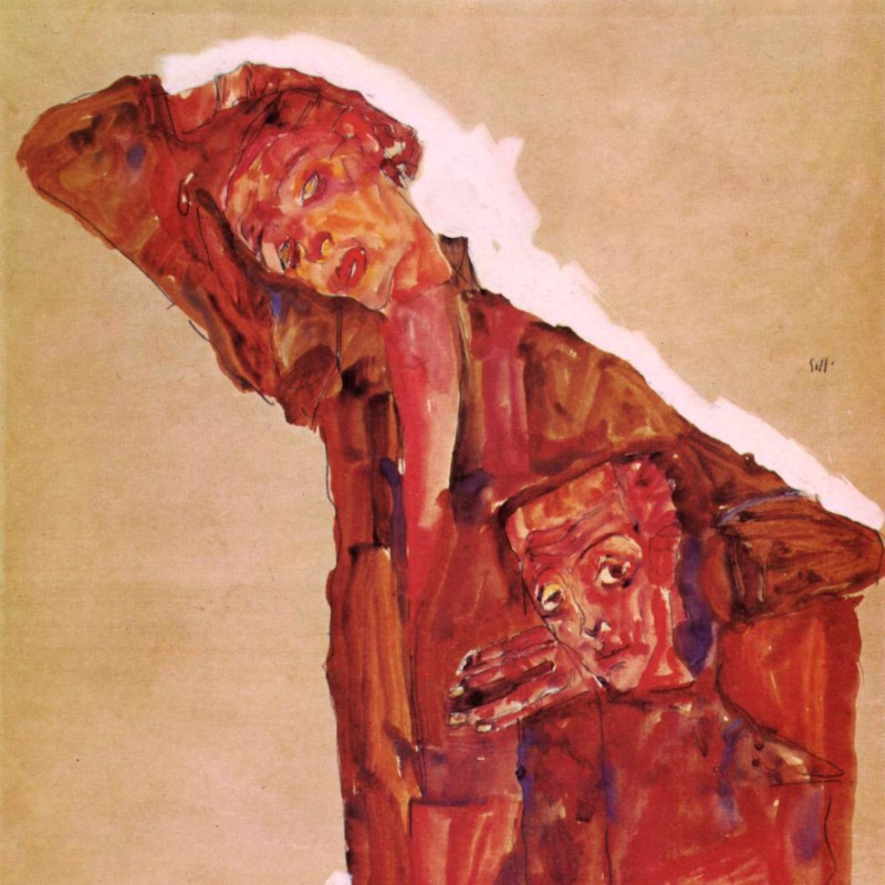 Egon Schiele - Self Portrait(s)