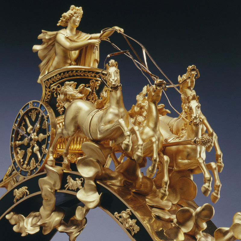Pierre-Philippe Thomire - An Empire figural centrepiece stamped by Pierre-Philippe Thomire, Paris, date circa 1815