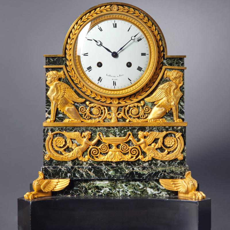 Le Paute et Fils - A Restauration mantel clock by Le Paute et Fils, Paris, date circa 1820