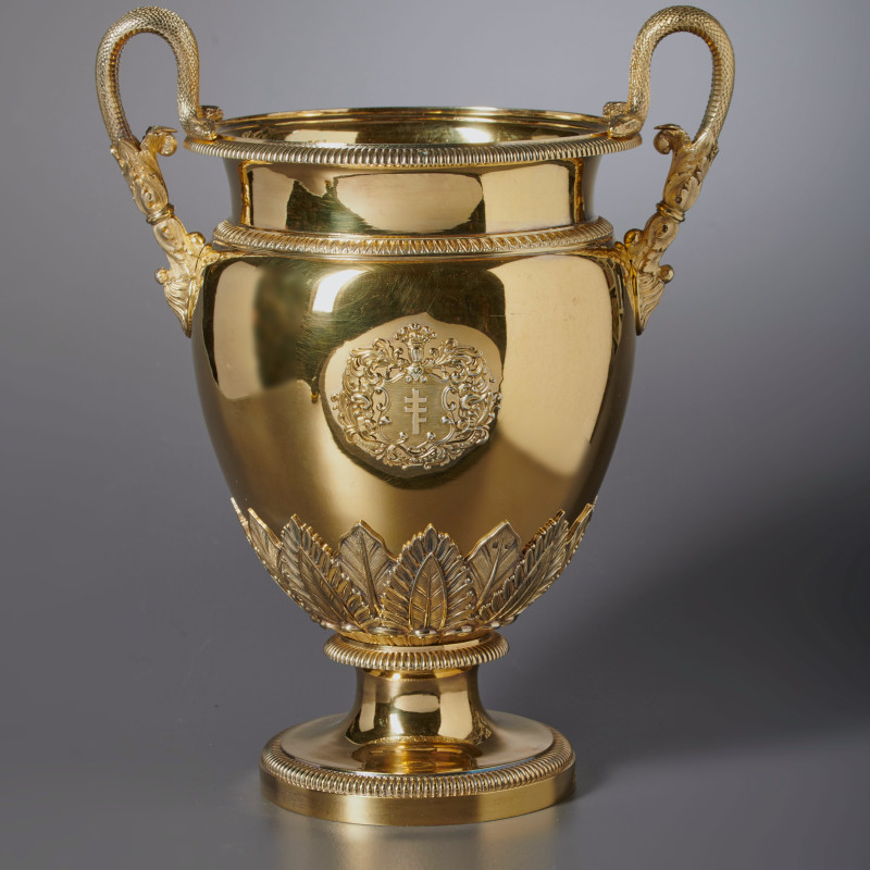 Jean-Baptiste-Claude Odiot - An Empire wine cooler by Jean-Baptiste-Claude Odiot, Paris, dated 1825