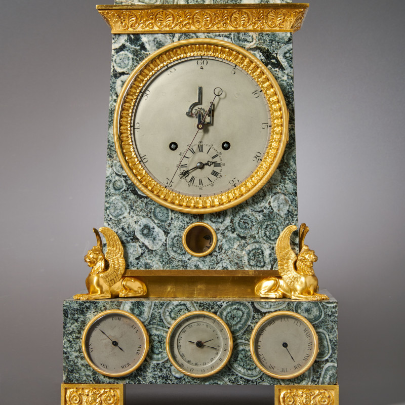 Lépine (attributed to) - A Louis Philippe astronomical table regulator with secular perpetual calendar attributed to Lépine à Paris, Paris, date circa 1845