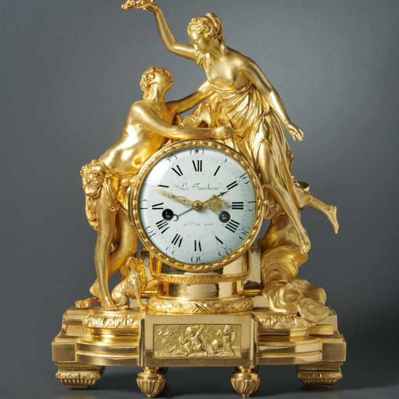 Le Faucheur - A Louis XVI mantel clock by Le Faucheur, Paris, date circa 1780