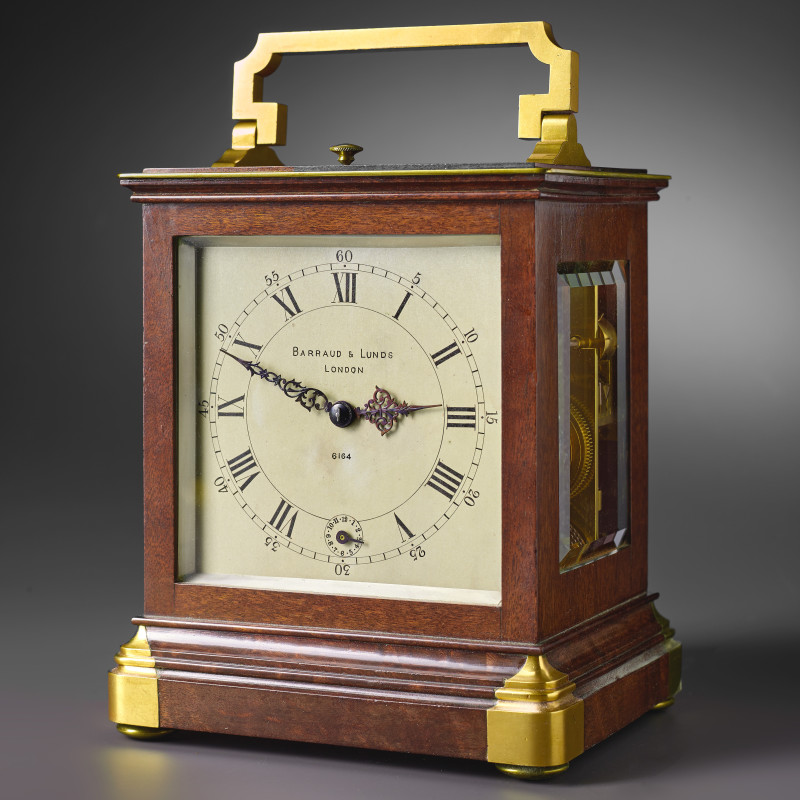 Barraud & Lunds - A 19th century miniature travelling timepiece by Barraud & Lunds, London, date circa 1840