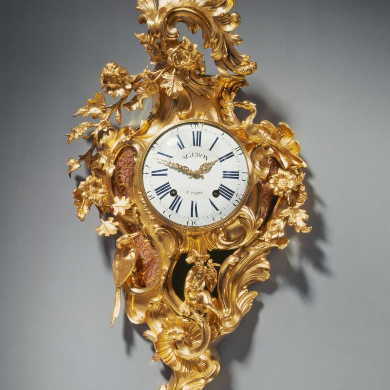 François Ageron - A Louis XV cartel clock by François Ageron, Paris, date circa 1745-50