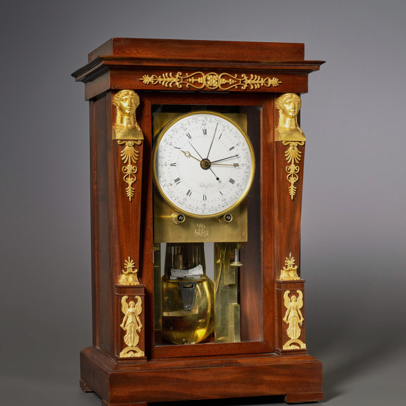 Robert Robin Fils - An Empire precision regulator by Robert Robin Fils, Paris, dated 1799
