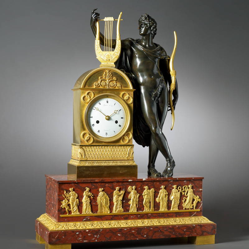 Louis Moinet - An Empire figural clock by Moinet, Paris, date circa 1825-30