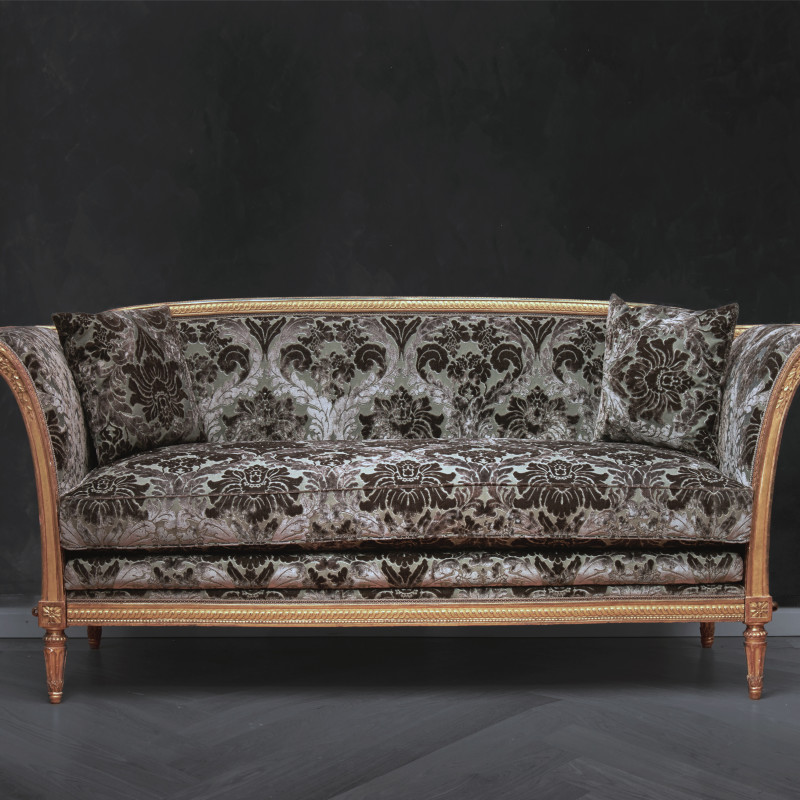 Jean-Baptiste-Claude Sené - A Louis XVI carved grand canapé by Jean-Baptiste-Claude Sené, Paris, date circa 1785