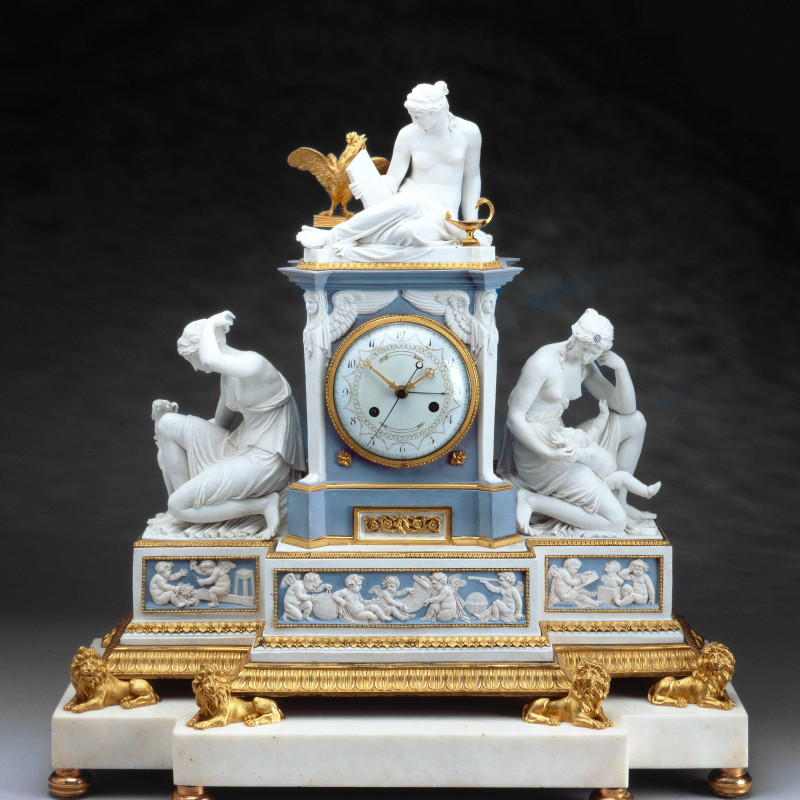 Robert Robin (attributed to) - A Louis XVI mantel clock attributed to Robert Robin, Paris, date circa 1785