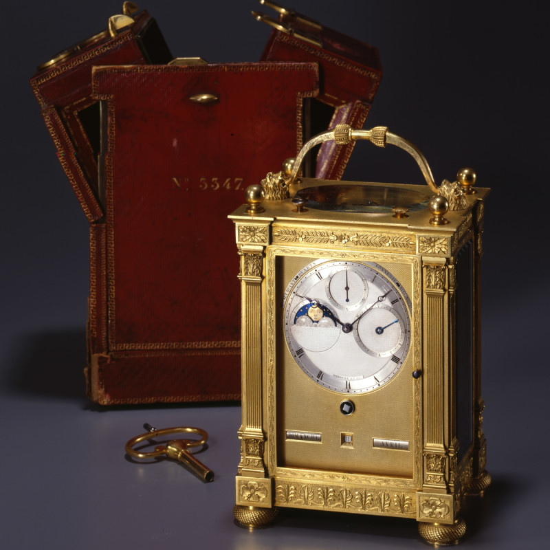 Breguet & Fils - A gilt bronze grande and petite sonnerie striking carriage clock by Breguet et Fils, Paris, date circa 1831