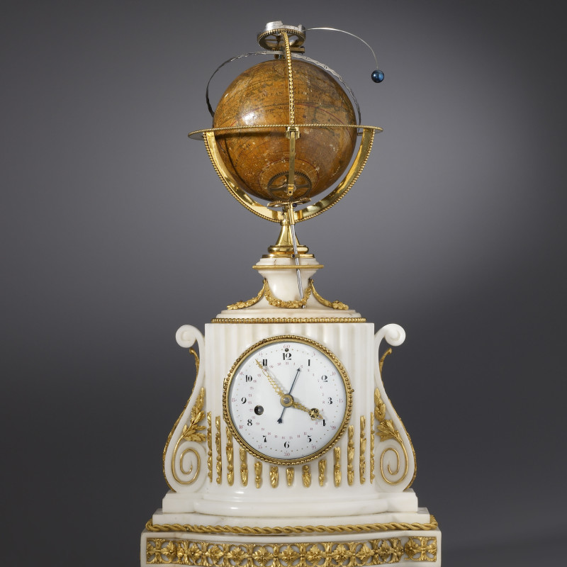 Augustin II Fortin - A Louis XVI planetarium clock by Augustin II Fortin , Paris, date circa 1770