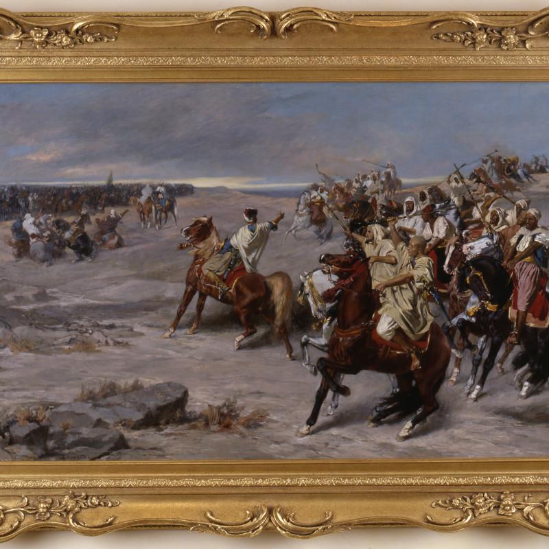 Otto von Faber du Faur (1828-1901) - 'Le Parlez' by Otto von Faber du Faur , 1883