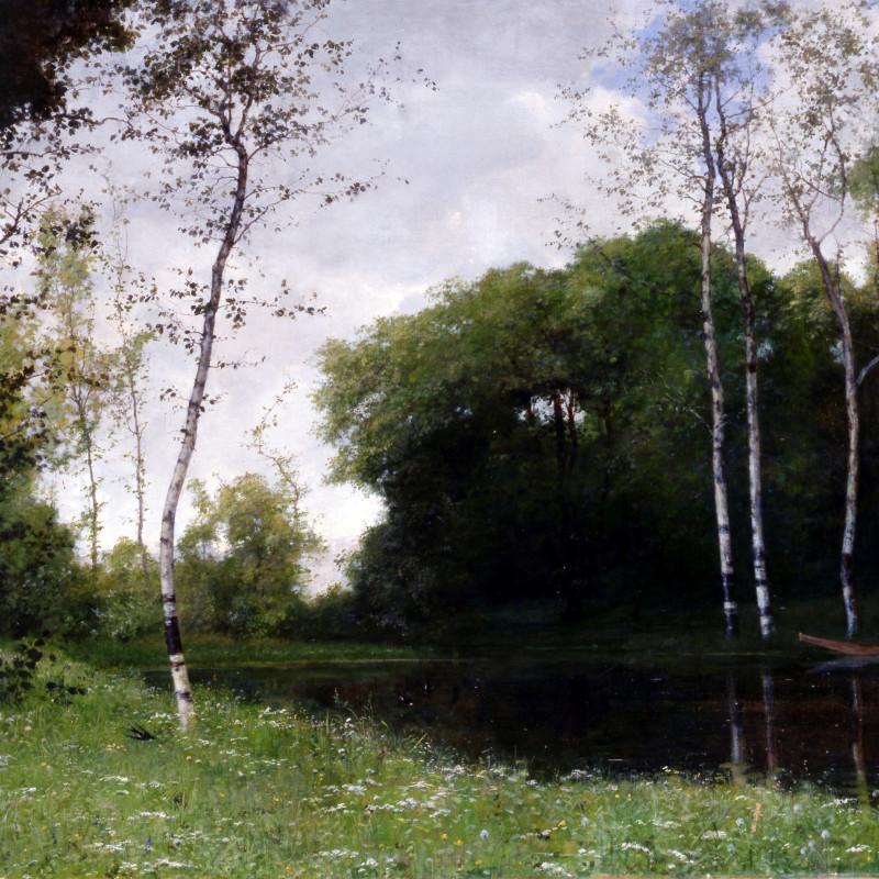 """Marco Calderini - """"Primavera"""" by Marco Calderini, 1881"""