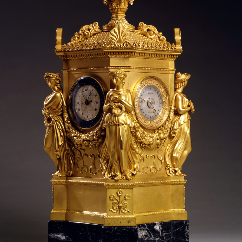 Jean-Joseph Lepaute - An Empire astronomical clock by Jean Joseph Lepaute, Paris, dated 1808