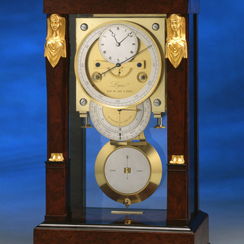 Jean-Antoine Lepine, An Empire table regulator of month duration by Jean-Antoine Lepine, Paris, date circa 1820