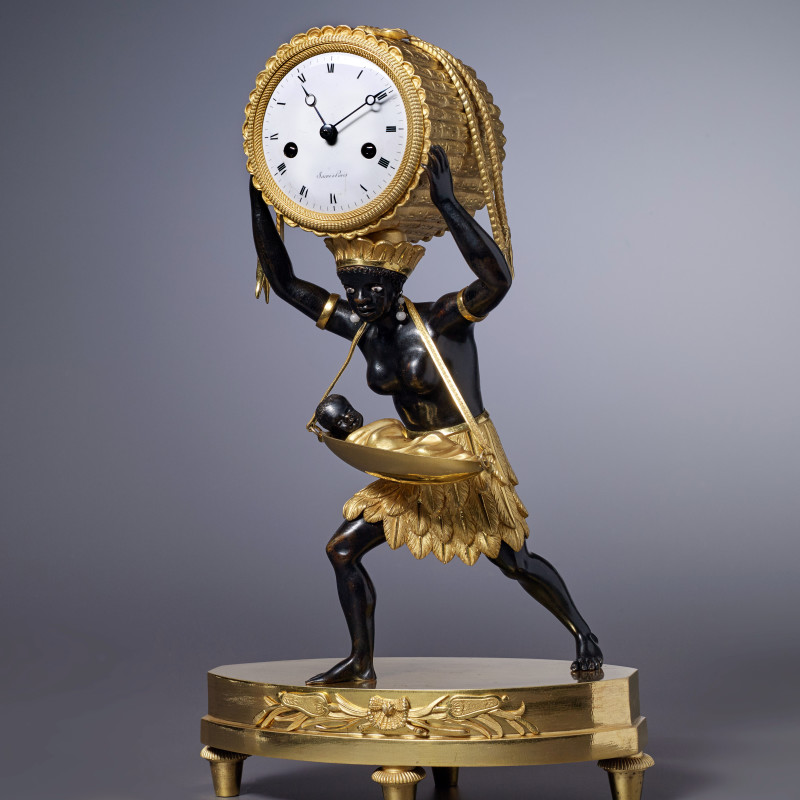 Sacré - An Empire mantel clock