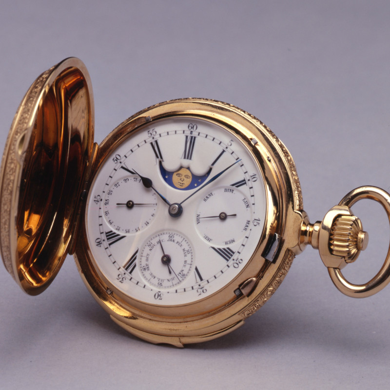 Paul Jeannot - A Swiss astronomical and minute repeating Pocket watch by Paul Jeannot, Geneva, circa 1880