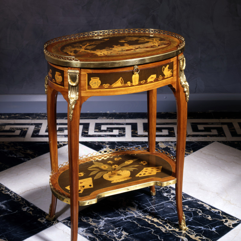 Charles Topino - A Louis XVI table à écrire by Charles Topino, Paris, date circa 1775
