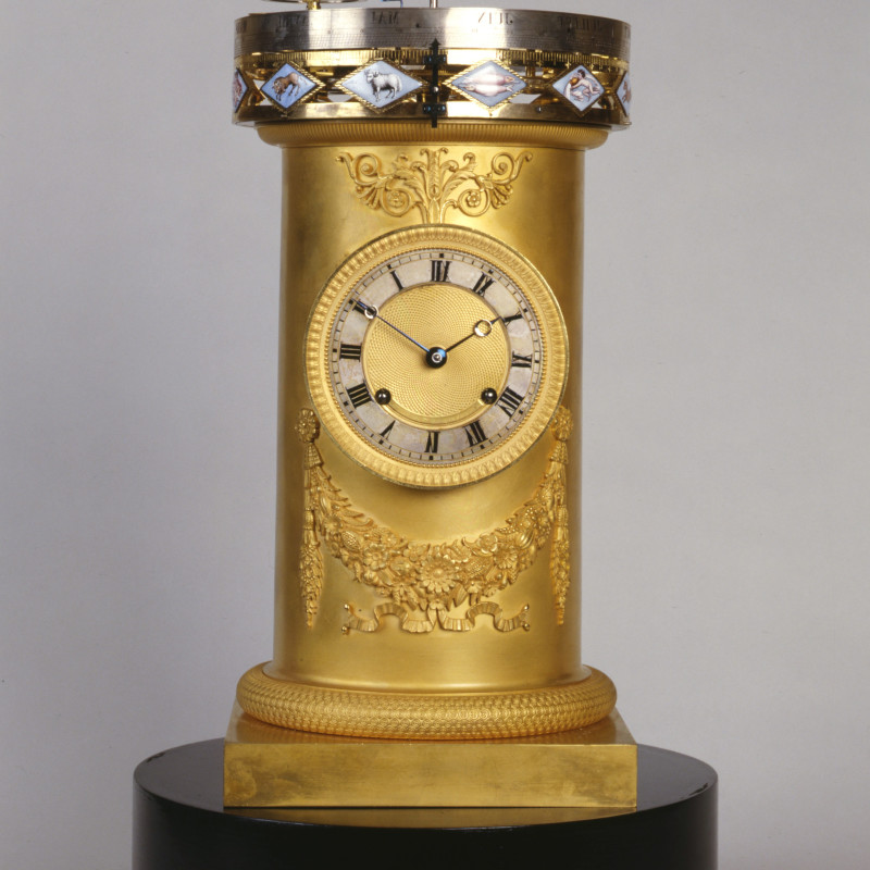 François Ducommun - An early 19th Century Swiss planetarium clock, by François Ducommun, Switzerland, date circa 1810