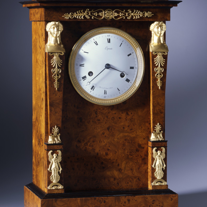 Pierre-Basile Lepaute - An Empire petit regulator, by Pierre-Basile Lepaute, Paris, dated by its accompanying letter 1812