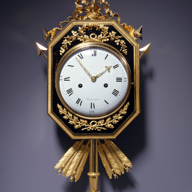 Manière - A Directoire cartel clock of eight day duration, by Manière, Paris, date circa 1795