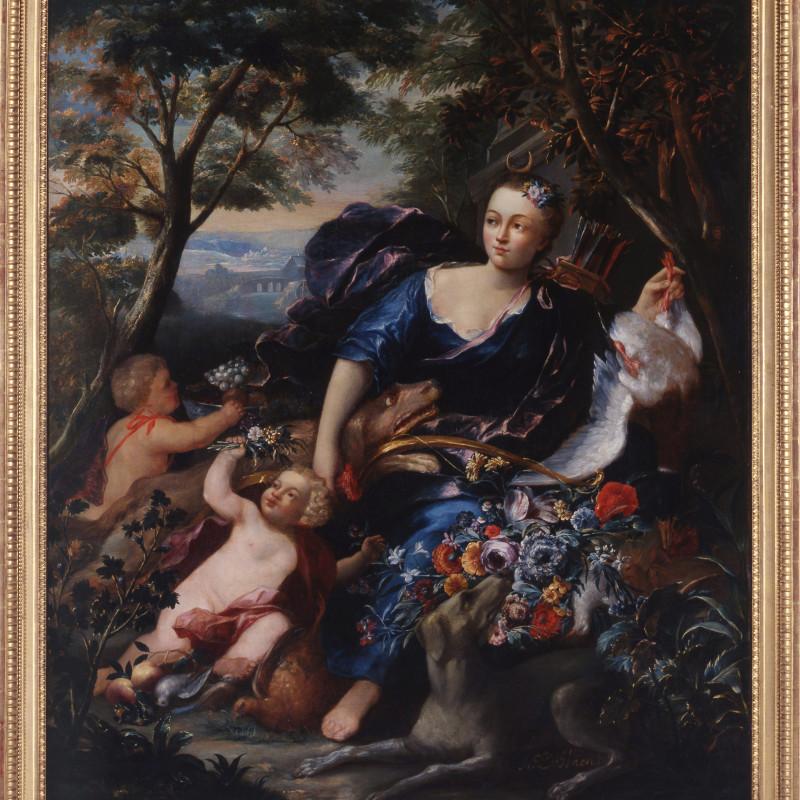 "Abraham I de Haen - ""Diana the Huntress"" by Abraham I de Haen, Flemish, second half of the 17th century"