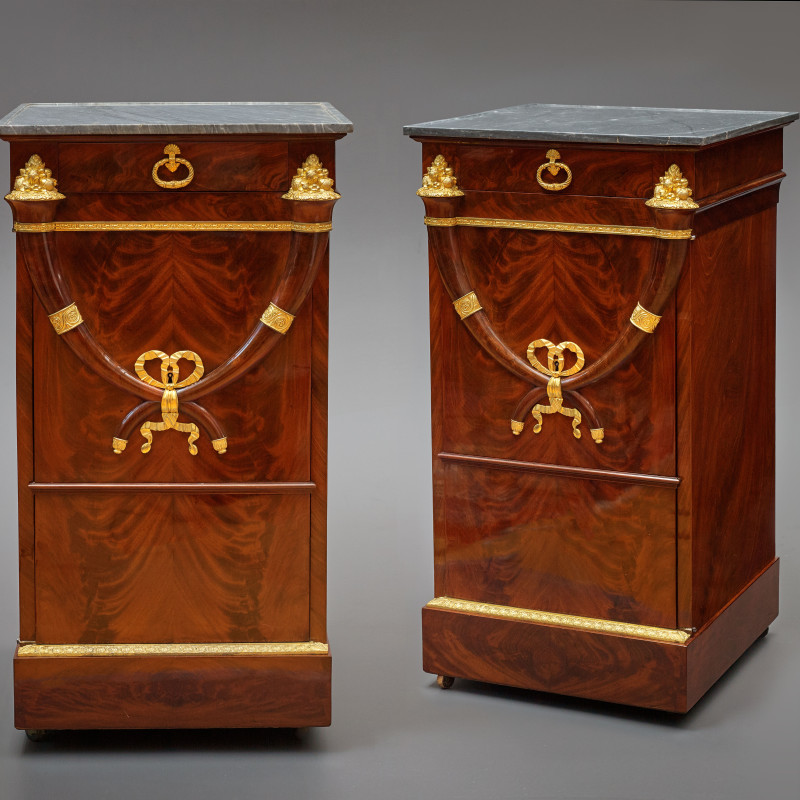 Jacob Frères (attributed to) - A pair of Directoire somnos attributed to Jacob Frérès, Paris, date circa 1800