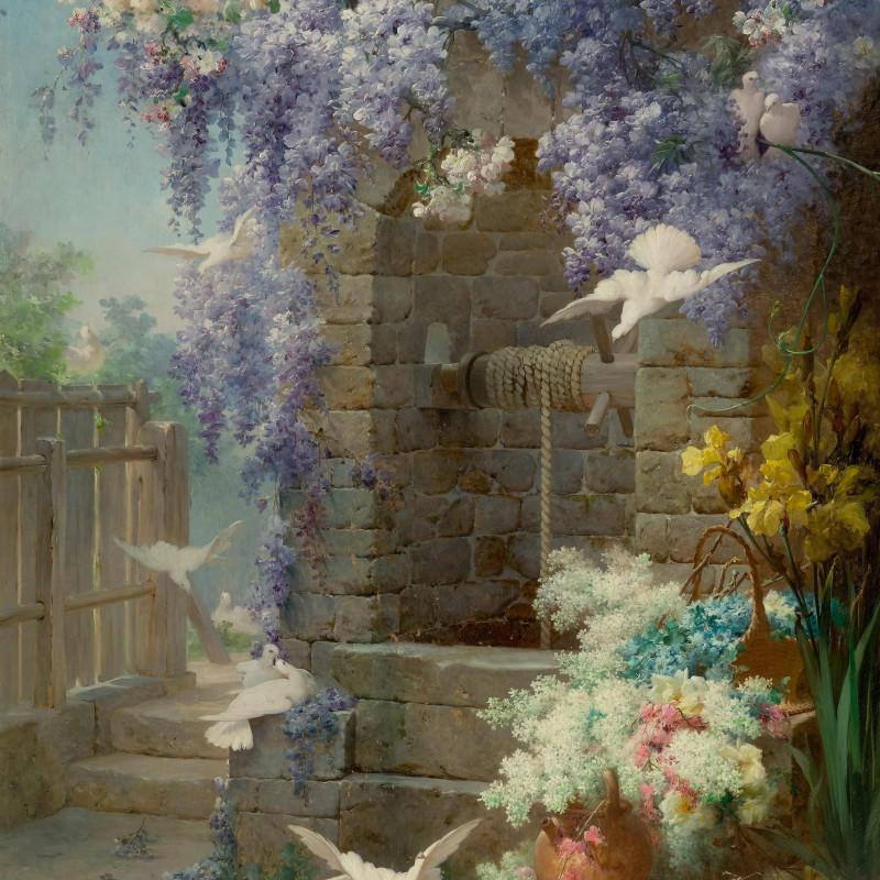 Eugène Bidau - A painting