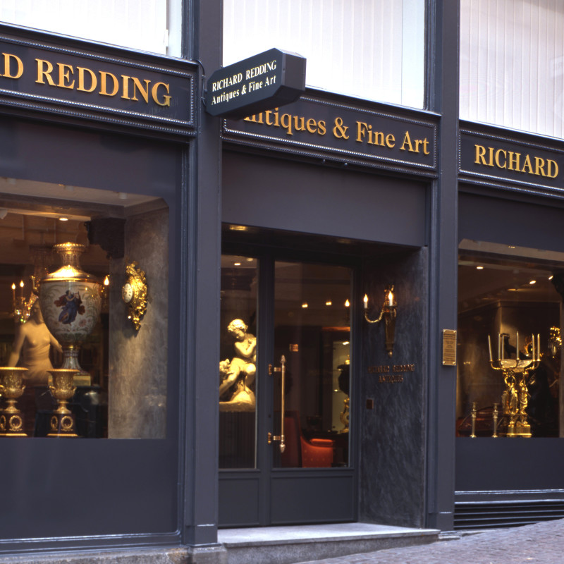 Richard Redding Antiques Gallery in Zürich, from 1986 - 2012