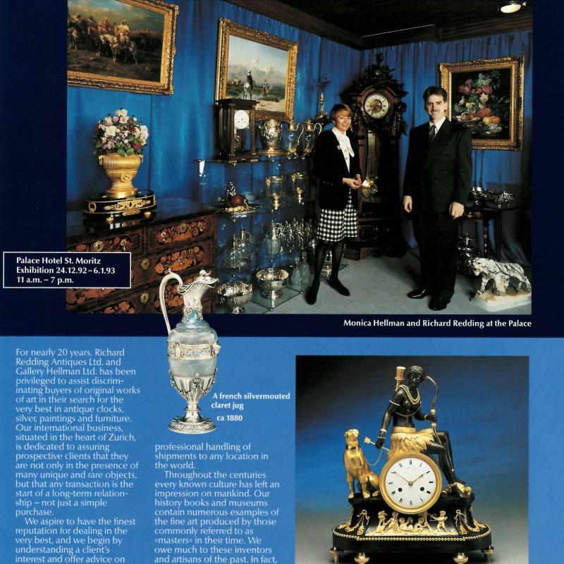 Palace Hotel, St. Moritz, Exhibition 1992/93.
