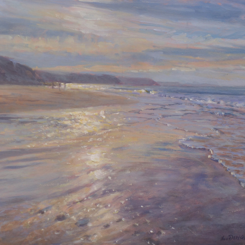 Laurence Dingley, Winter Reflections, N. Cornwall