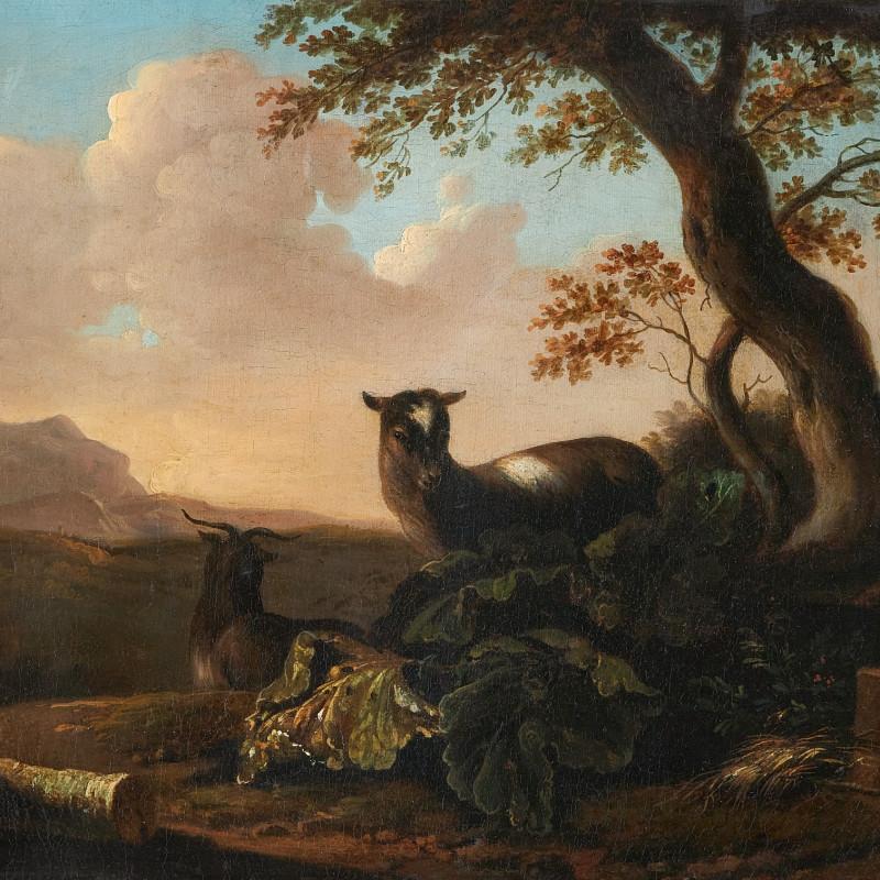 Philip Reinagle, Landscape with goats