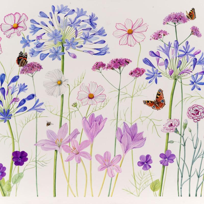 Ann Fraser, The September garden