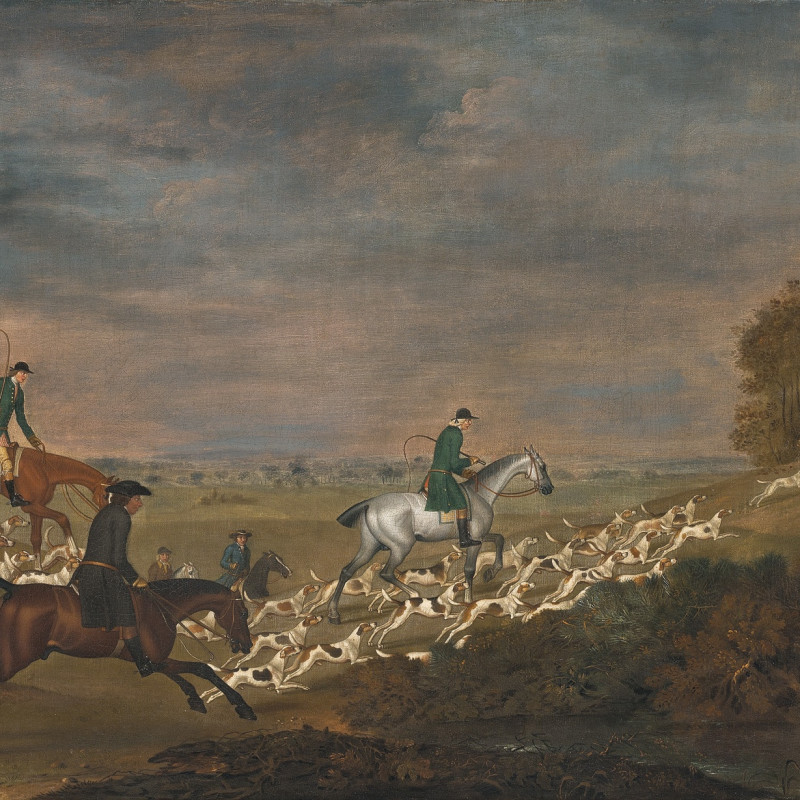 James Seymour, Sir William Jolliffe's hounds
