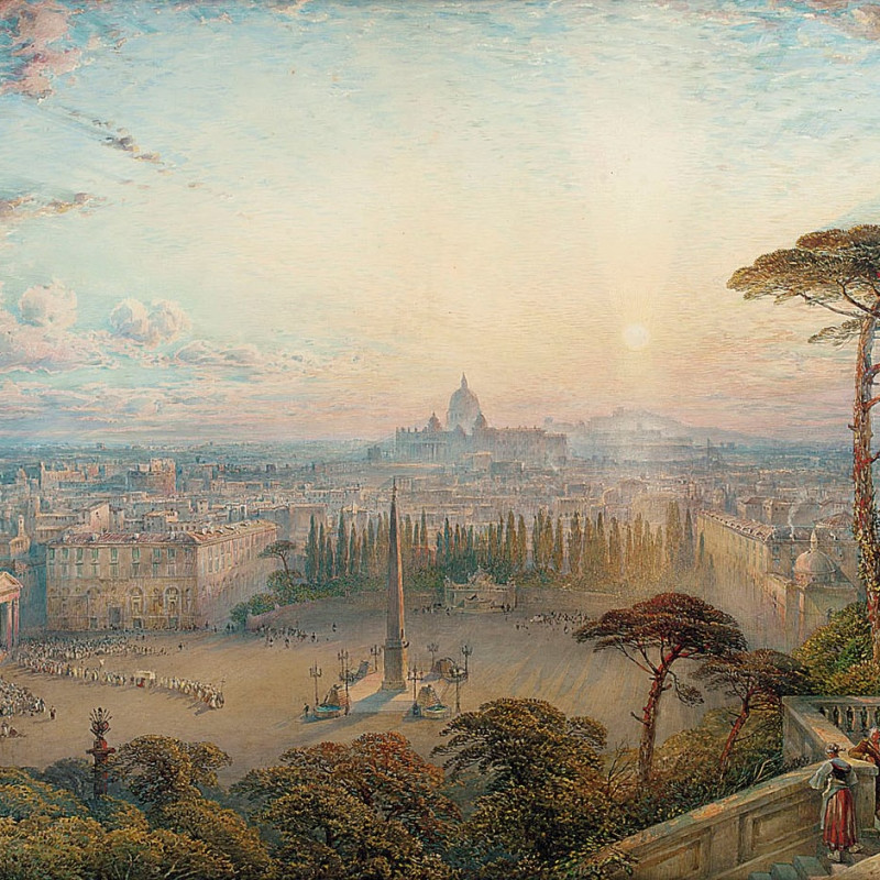 William Collingwood-Smith, RA, RWS, Rome: The Eternal City
