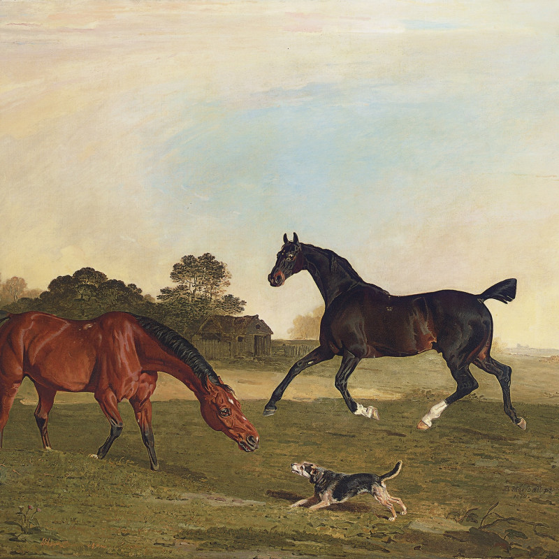 Benjamin Marshall, Hunters at grass